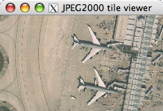 Screenshot of JPEG 2000 viewer
